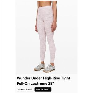Wunder Under High Rise tights *Luxtreme*